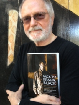 Tom Wright with Book